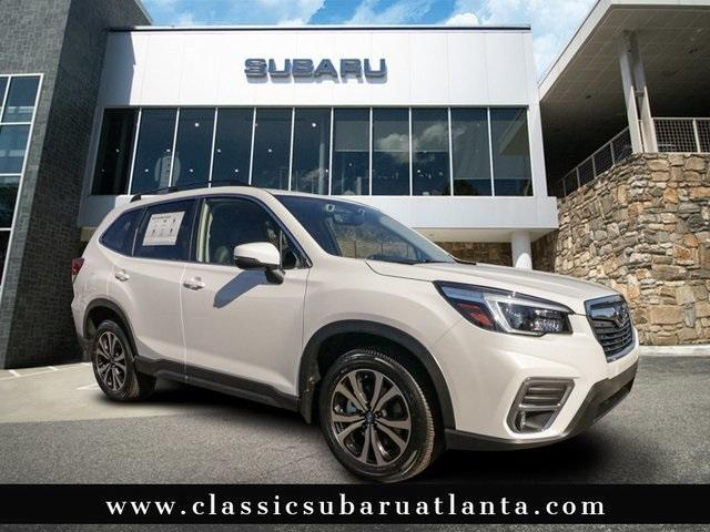 new 2021 Subaru Forester car, priced at $33,054