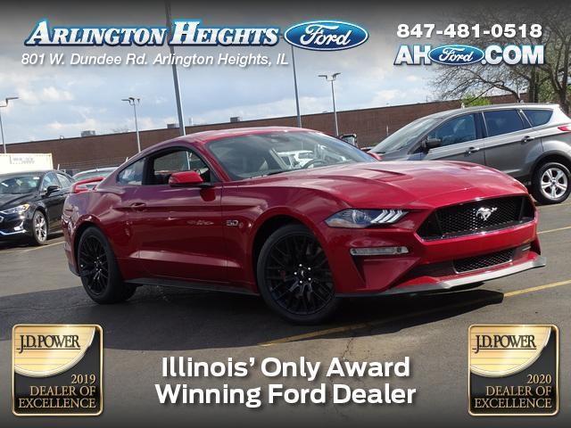 new 2021 Ford Mustang car, priced at $51,595