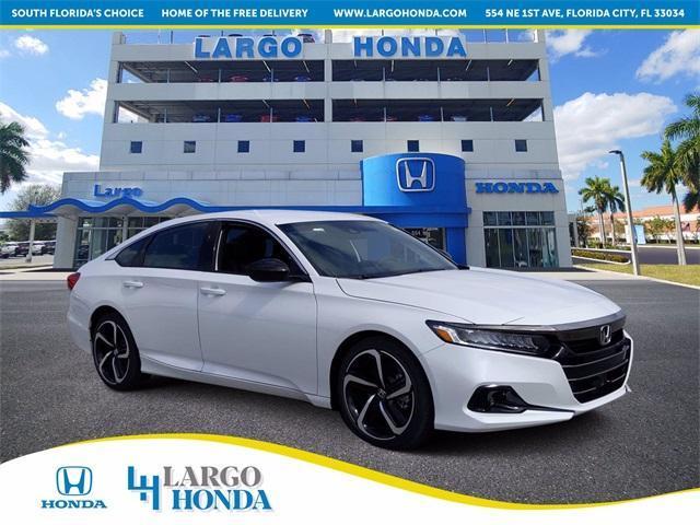 new 2021 Honda Accord car, priced at $28,580