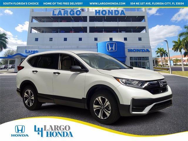 new 2021 Honda CR-V car, priced at $26,920