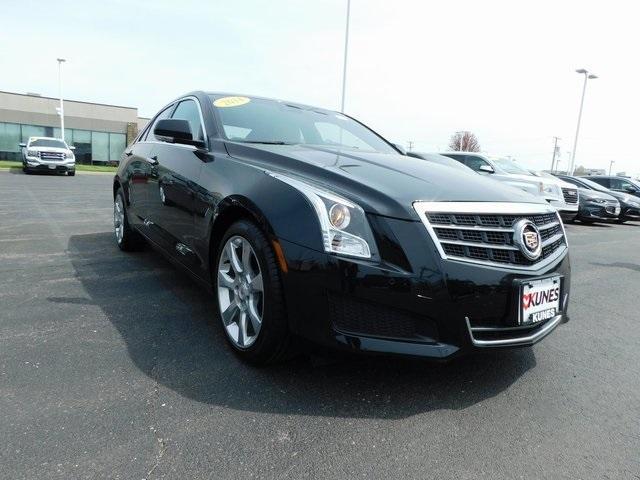 used 2014 Cadillac ATS car, priced at $18,979