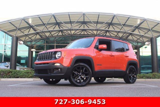 used 2017 Jeep Renegade car, priced at $19,426