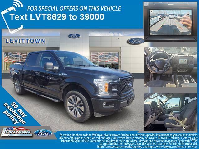 used 2018 Ford F-150 car, priced at $37,488