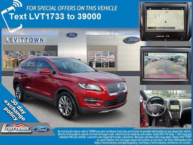 used 2019 Lincoln MKC car, priced at $30,455
