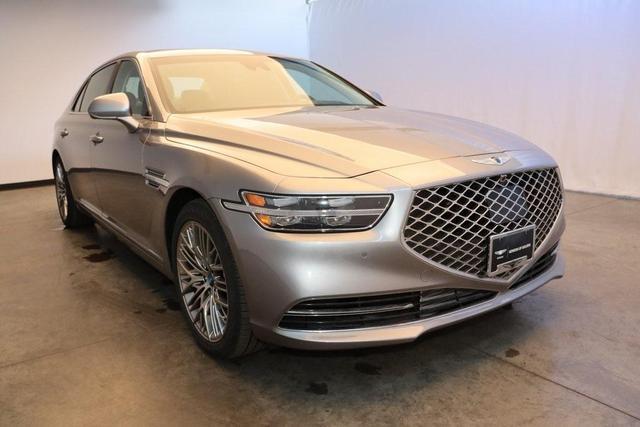 new 2021 Genesis G90 car, priced at $73,875