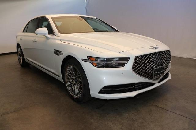 new 2021 Genesis G90 car, priced at $74,475