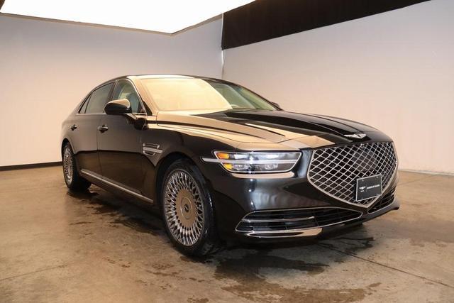 new 2021 Genesis G90 car, priced at $79,625