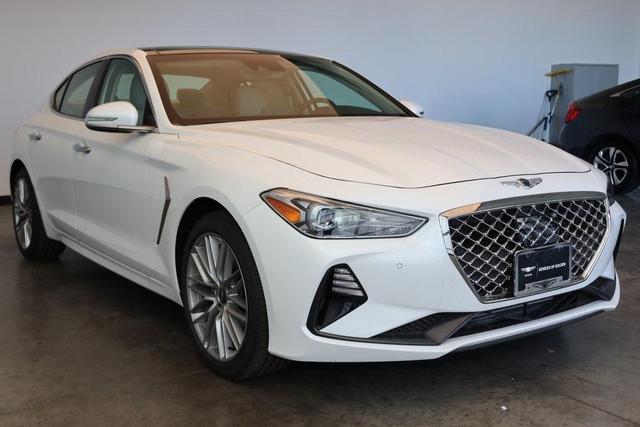 new 2021 Genesis G70 car, priced at $40,685