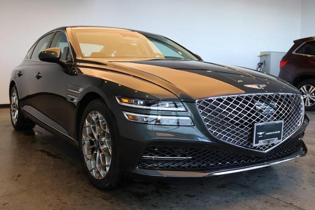 new 2021 Genesis G80 car, priced at $56,372