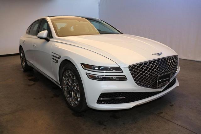 new 2021 Genesis G80 car, priced at $63,010