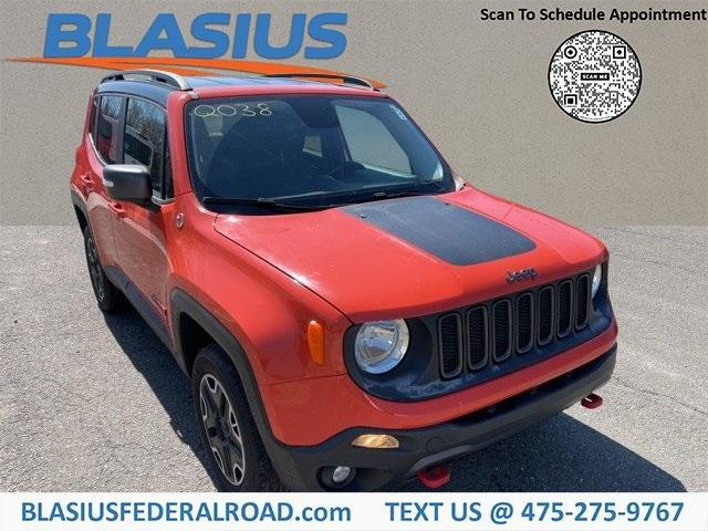 used 2017 Jeep Renegade car, priced at $15,888