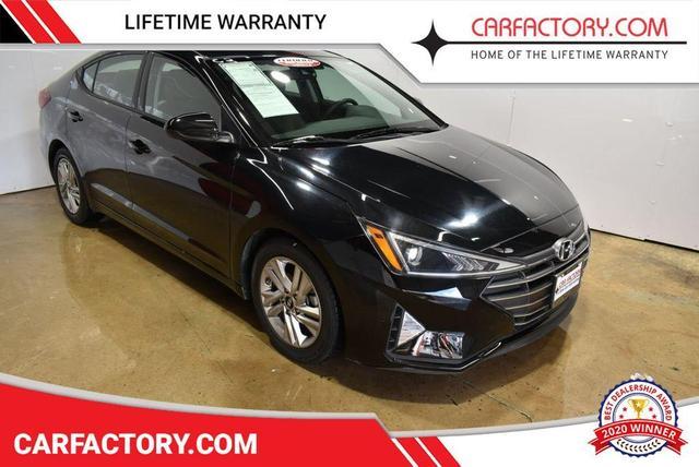 used 2020 Hyundai Elantra car, priced at $13,271