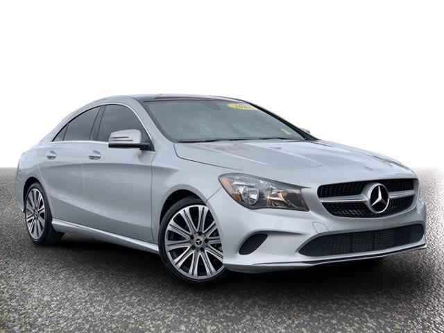 used 2018 Mercedes-Benz CLA 250 car, priced at $29,899