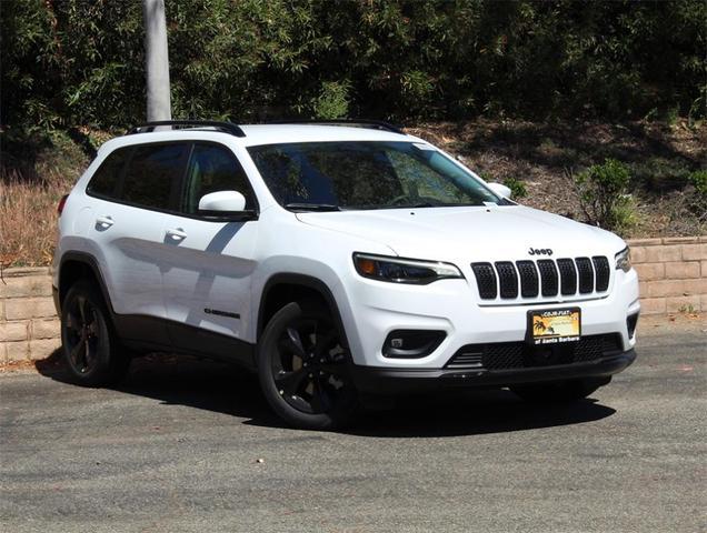 new 2021 Jeep Cherokee car, priced at $31,765