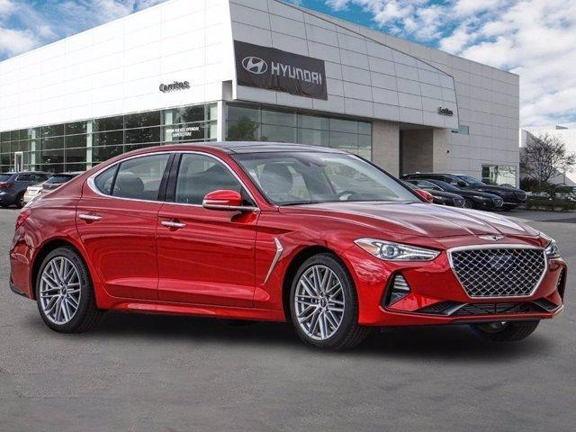 new 2021 Genesis G70 car, priced at $41,575