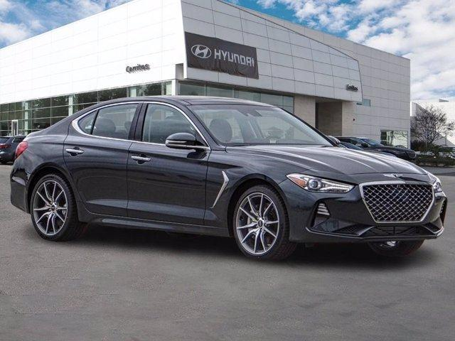 new 2021 Genesis G70 car, priced at $50,595