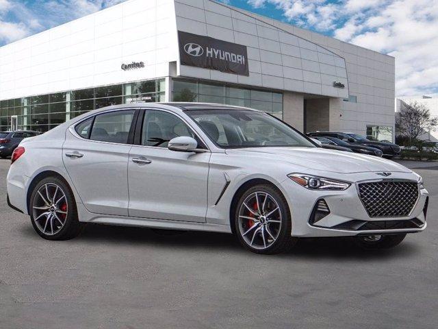 new 2021 Genesis G70 car, priced at $50,475