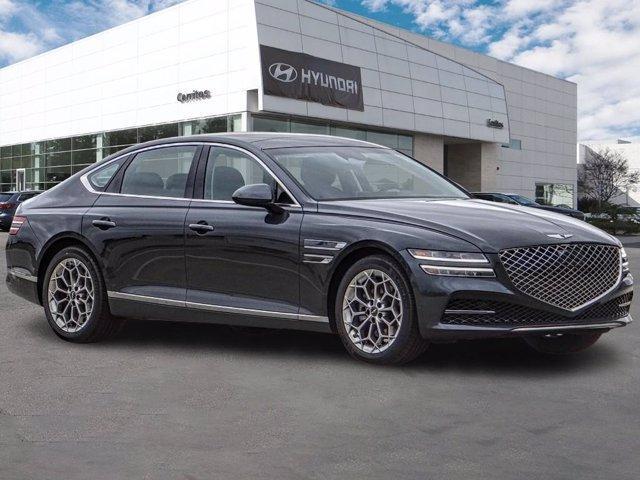 new 2021 Genesis G80 car, priced at $53,725