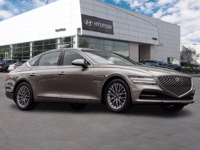 new 2021 Genesis G80 car, priced at $52,900