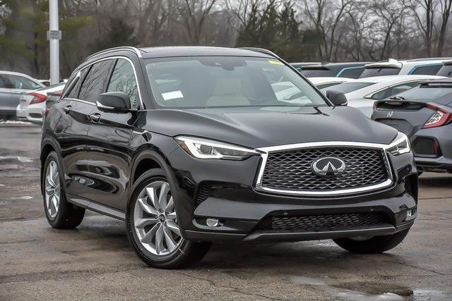 new 2021 INFINITI QX50 car, priced at $43,738