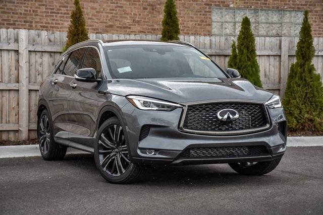 new 2021 INFINITI QX50 car, priced at $45,511