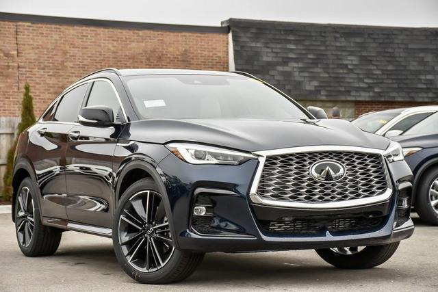 new 2022 INFINITI QX55 car