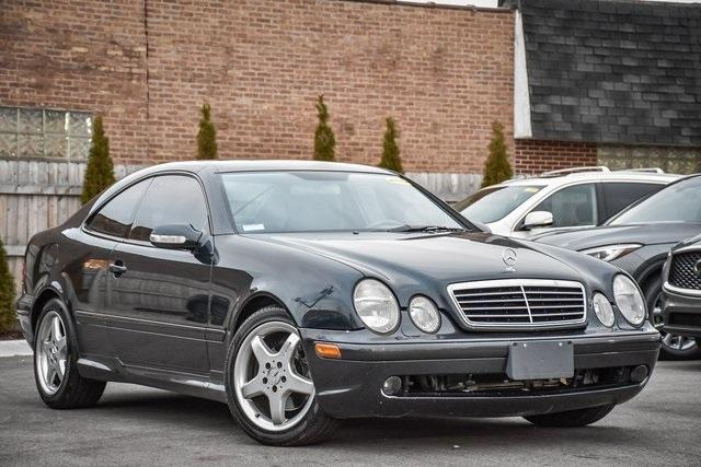 used 2002 Mercedes-Benz CLK-Class car, priced at $8,694
