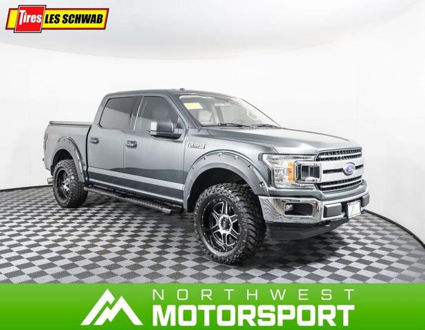used 2018 Ford F-150 car, priced at $41,999