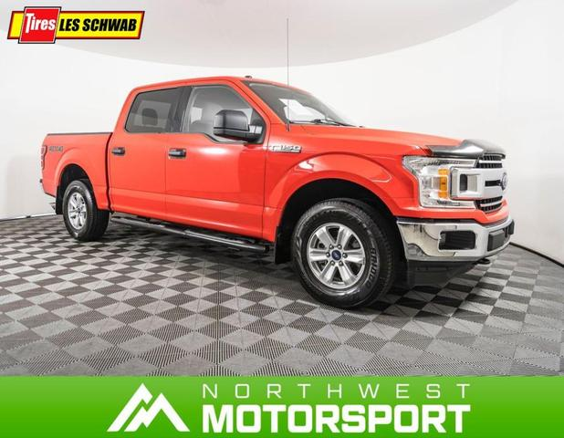 used 2018 Ford F-150 car, priced at $38,519