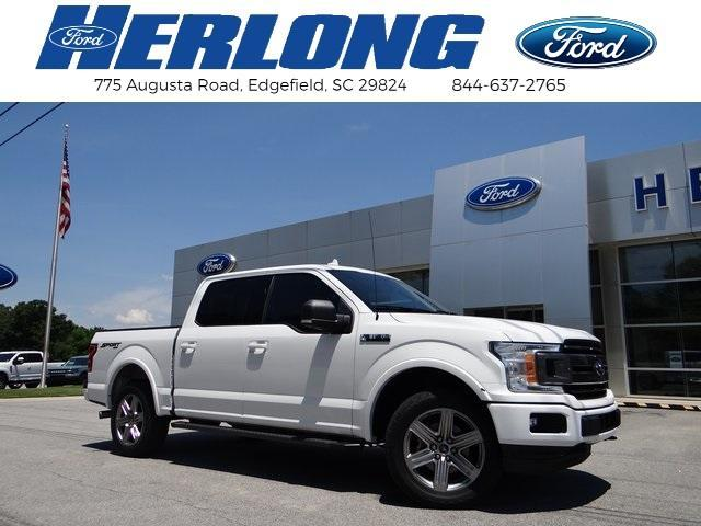 used 2018 Ford F-150 car, priced at $43,380