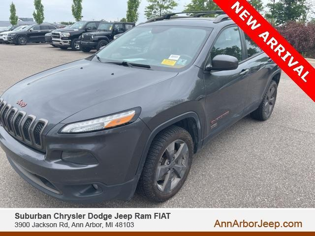 used 2016 Jeep Cherokee car, priced at $15,000