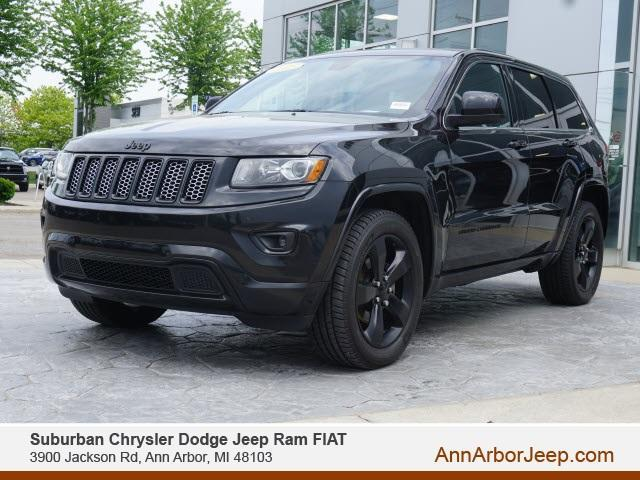 used 2015 Jeep Grand Cherokee car, priced at $14,000