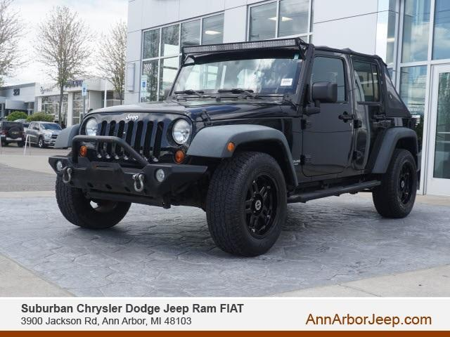used 2010 Jeep Wrangler Unlimited car, priced at $15,900