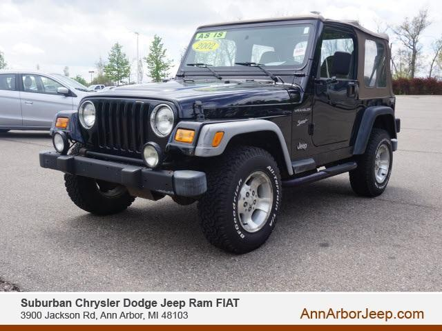 used 2002 Jeep Wrangler car, priced at $8,999