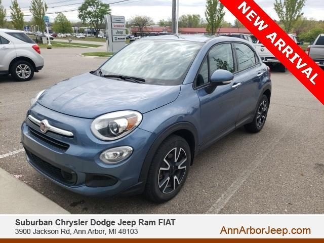 used 2017 FIAT 500X car, priced at $15,500