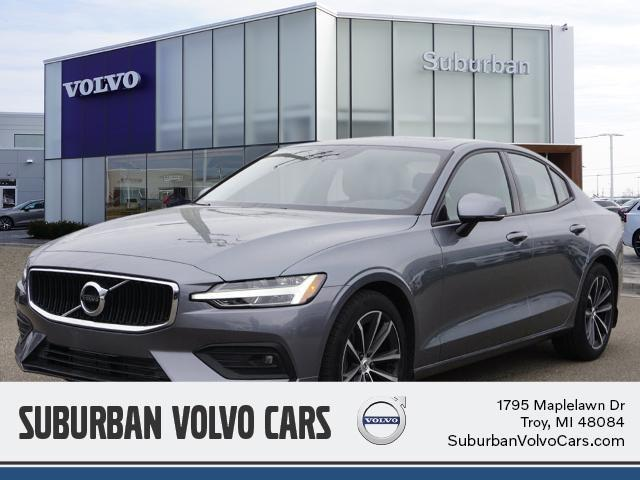 used 2021 Volvo S60 car, priced at $34,000