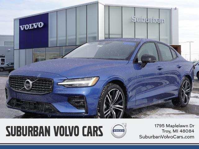 new 2021 Volvo S60 car, priced at $47,818