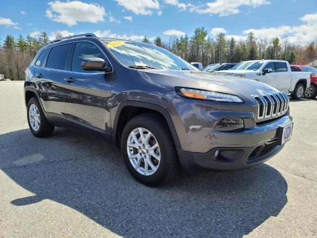 used 2017 Jeep Cherokee car, priced at $18,687