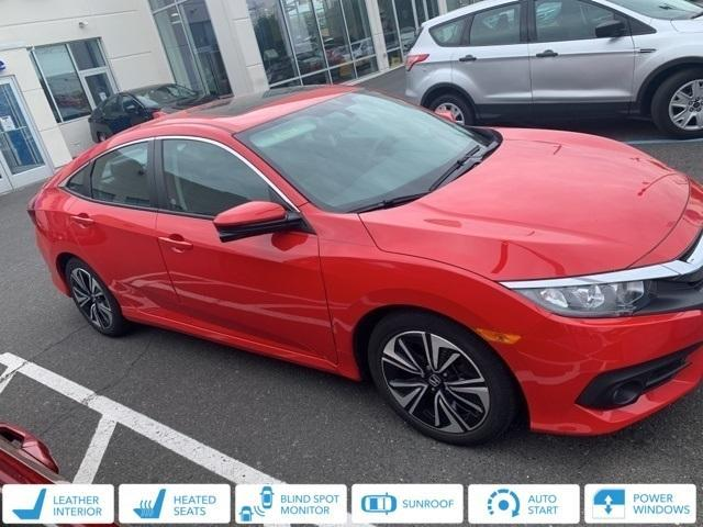 used 2018 Honda Civic car, priced at $21,794