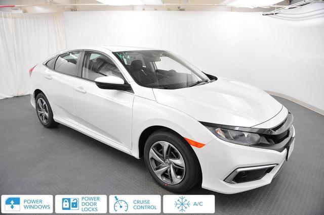 new 2021 Honda Civic car, priced at $21,407