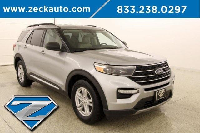 used 2020 Ford Explorer car, priced at $35,000