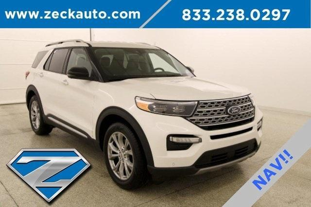 used 2020 Ford Explorer car, priced at $40,000