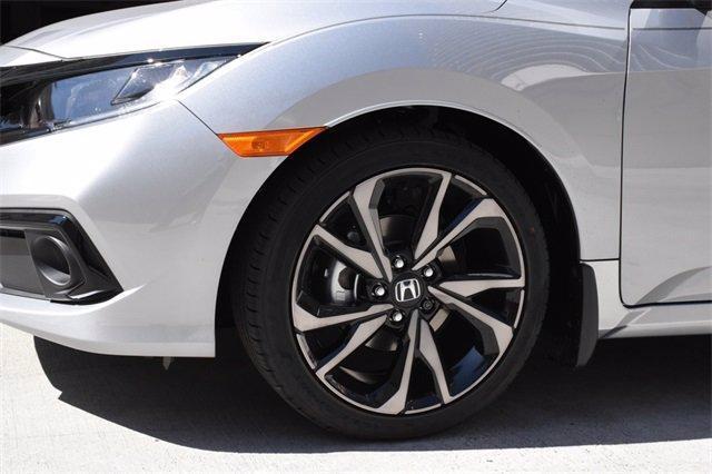 new 2021 Honda Civic car, priced at $22,682