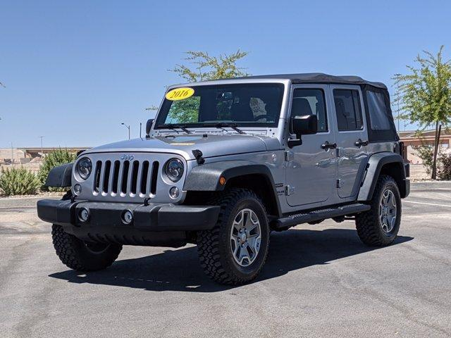 used 2016 Jeep Wrangler Unlimited car, priced at $32,000