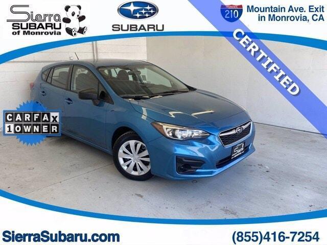 used 2018 Subaru Impreza car, priced at $21,499