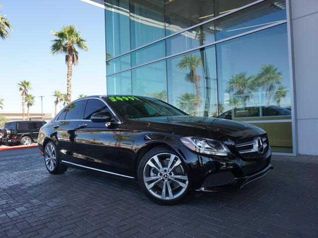used 2018 Mercedes-Benz C-Class car, priced at $32,991