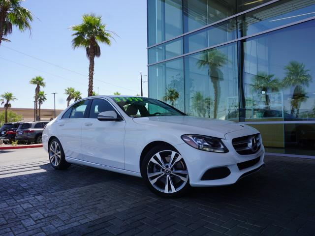 used 2018 Mercedes-Benz C-Class car, priced at $33,991