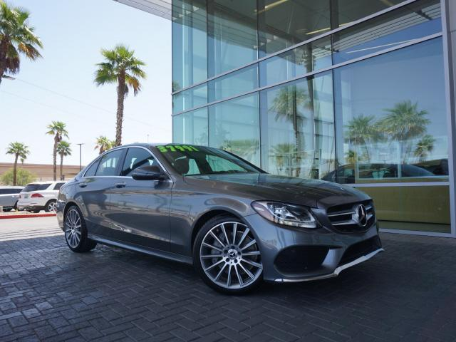 used 2018 Mercedes-Benz C-Class car, priced at $36,991