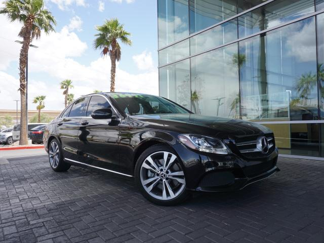 used 2018 Mercedes-Benz C-Class car, priced at $34,991