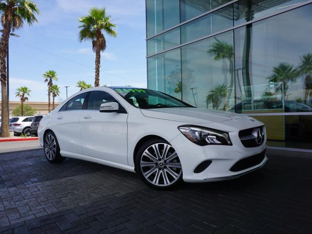 used 2018 Mercedes-Benz CLA 250 car, priced at $36,991
